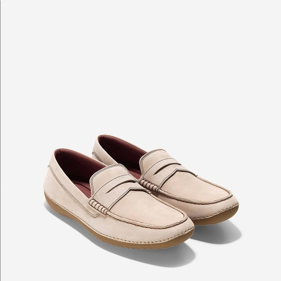 df5c6dd3d71 Cole Haan 11.5 M Motogrand Beige Penny Loafer. M 5a6989032ab8c5ec31dae7b9
